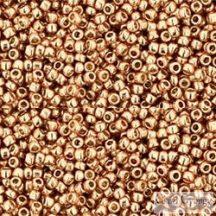 Perm. Finish Galv. Rose Gold - 5 g - 15/0 Toho japán kásagyöngy (PF551)
