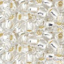 Silver Lined Crystal - 10 g - 3/0 Toho kásagyöngy (21)
