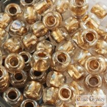 Gold Lined Crystal - 10 g - 3/0 Toho Seed Beads (989)