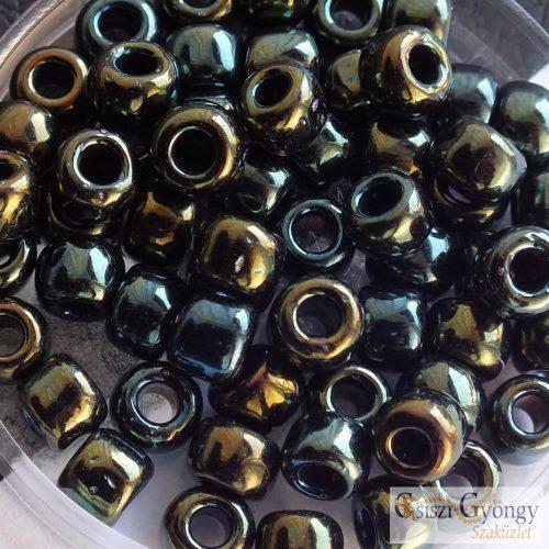 Metallic Iris Green/Brown - 10 g - 3/0 Toho kásagyöngy (84)