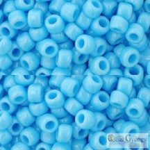 Opaque Blue Turquoise - 10 g - 6/0 Toho japán kásagyöngy (43)