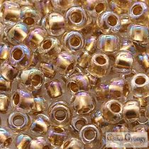 Gold Lined Rainbow Crystal - 10 g - 6/0 Toho Rocailles (994)
