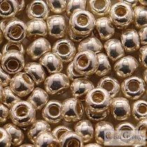 Perm. Finish Galv. Aluminium - 10 g - Toho japán kásagyöngy 6/0 (PF558)