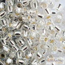 Silver Lined Crystal - 10 g - 6/0 Toho japán kásagyöngy (21)