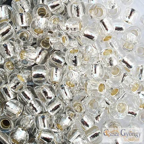 21 - Silver Lined Crystal- 10 g - 6/0 Toho japán kásagyöngy