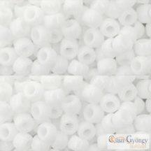 Opaque White - 10 g - 6/0 Toho japán kásagyöngy (41)
