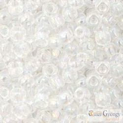 Transparent Rainbow Crystal - 10 g - 6/0 Toho japán kásagyöngy (161)