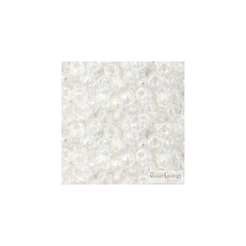 161 - Transparent Rainbow Crystal - 10 g - 6/0 Toho japán kásagyöngy