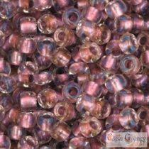 I.C. Crystal Rose Gold Lined - 10 g - 6/0 Toho japán kásagyöngy (267)