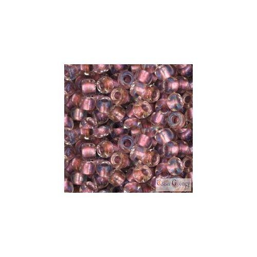 267 - I.C. Crystal Rose Gold Lined - 10 g - 6/0 Toho japán kásagyöngy