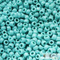 Opaque Turquoise - 10 g - 6/0 Toho kásagyöngy (55)