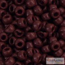 Opaque Oxblood - 10 g - 6/0 Toho kásagyöngy (46)