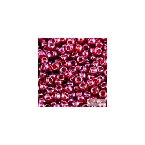 Gold Lusted Raspberry - 10 g - 8/0 Toho kásagyöngy (332)