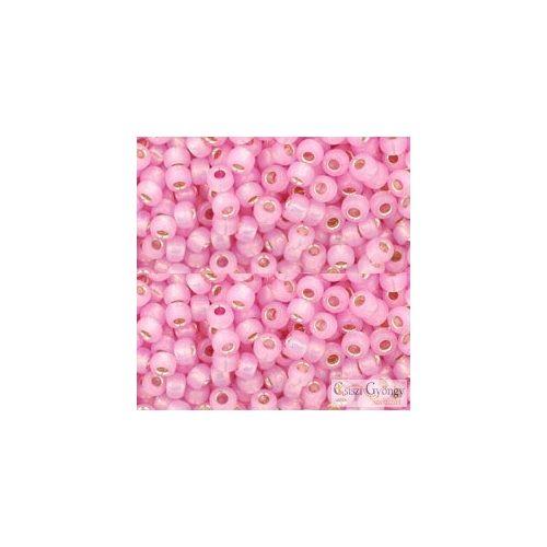 Silver Lined Milky Rosa - 10 g - 8/0 Toho kásagyöngy (2105)