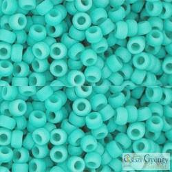 Op. Frost. Turquoise - 10 g - 8/0 Toho japán kásagyöngy (55F)