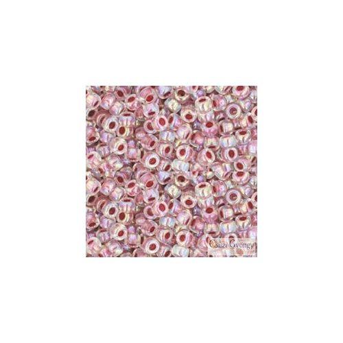I.C. Rainbow Crystal Strowberry Lined - 10 g - Toho japán kásagyöngy 8/0 (771)