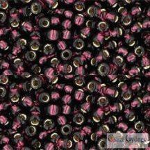 Silver Lined Amethyst - 10 g - 8/0 Toho japán kásagyöngy (26C)
