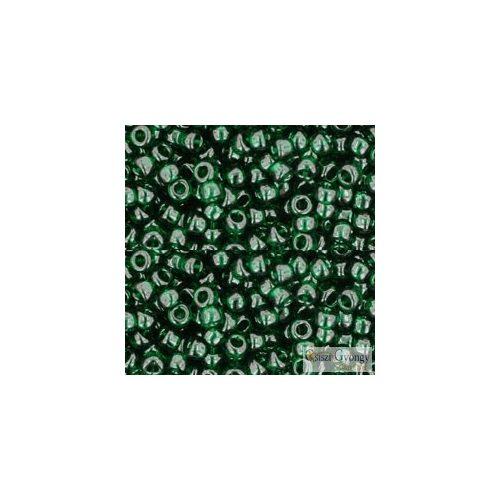Transparent Green Emerald - 10 g - 8/0 Toho kásagyöngy (939)