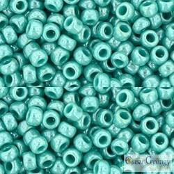 Op. Luster. Turquoise - 10 g - 8/0 Toho japán kásagyöngy (132)