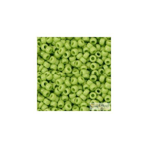 Opaque Sour Apple - 10 g - 8/0 Toho japán kásagyöngy (44)