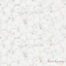 Opaque White - 10 g - 8/0 Toho japán kásagyöngy (41)