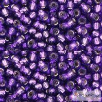 Silver Lined Purple - 10 g - 8/0 Toho japán kásagyöngy (2224)