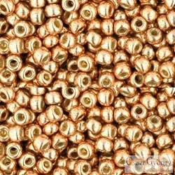 Perm. Fin. Galv. Rose Gold - 10 g - 8/0 Toho japán kásagyöngy (PF551)