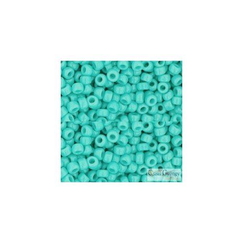 Opaque Turquoise - 10 g - 8/0 Toho kásagyöngy (55)