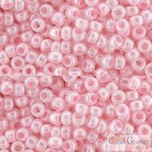 Dyed Ceylon Baby Pink - 10 g - 8/0 Toho japán kásagyöngy (908)