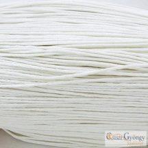Fehér - 1 méter - kordszál, szálvastagság: 1 mm