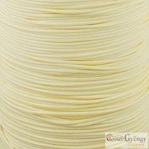 Halvány sárga - 1 méter - kordszál, szálvastagság: 1 mm