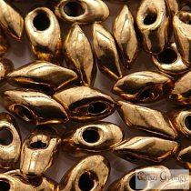 Bronze - 10 g - Miyuki Long Magatama gyöngy, mérete: 4x7 mm (457)