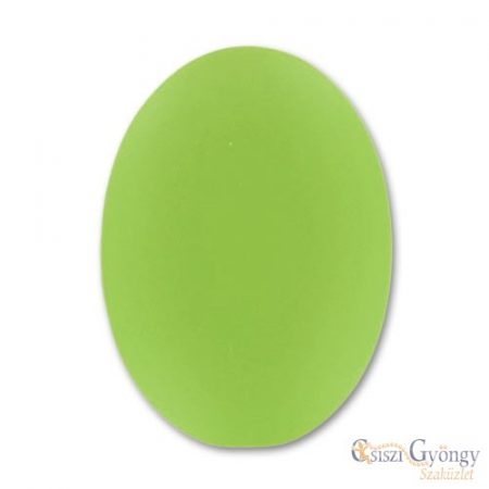 Lime - 1 db - Lunasoft Cabochon Oval 25x18mm
