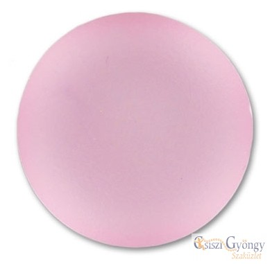Powder Rose - 1 db - Lunasoft Cabochon 18 mm