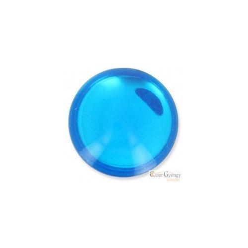 Shiny Blue - 1 db - 24 mm Lunasoft Cabochon