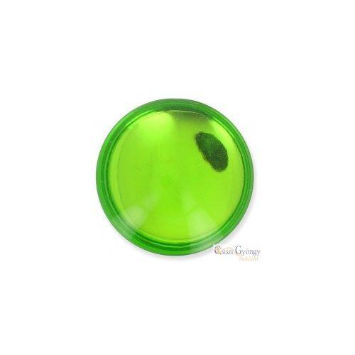 Shiny Lime - 1 db - 24 mm Lunasoft Cabochon