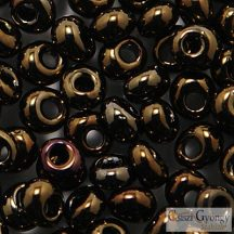 Metallic Iris Brown - 10 g - Toho Magatama, mérete: 3mm (83)