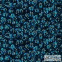 Transparent Capri Blue - 10 g - Toho Magatama gyöngy, mérete: 3mm (7BD)