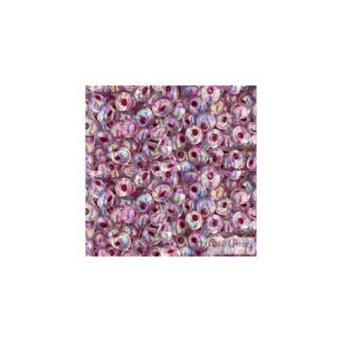 I.C. Rainb. Crystal Strawberry Lined - 10 g - 3 mm Toho Magatama (771)