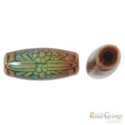 Daisy Ray színváltó akril gyöngy, méret: 11x25mm, furat: 3mm - 1 db