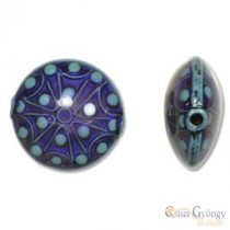 Starglazer akrill bead, size: 24mm, hole: 1.5mm - 1 pc.