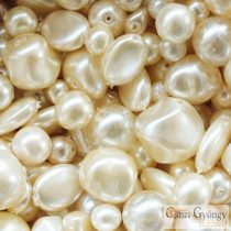 Vanillia - 20 g - Tscheche Glasswachsperlen Mix
