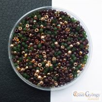 Batik - 10 g - Toho kásagyöngy mix, méret: 11/0