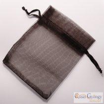 Black - 1 pc. - organza bag. size: 12x9 cm
