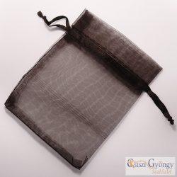 Kicsi fekete - 1 db - organza ajándéktasak mérete: 8x7 cm