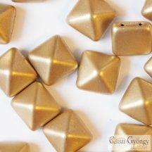 Matte Met. Flax - 5 db - Pyramid 12x12mm