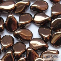 Bronze - 1 db - Pip gyöngy 5x7 mm