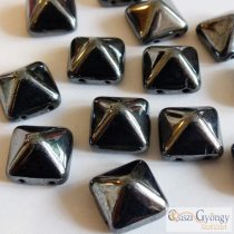 Hematite - 5 Stk. - Pyramid 12x12 mm