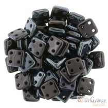 Luster Metallic Amethyst - 20 pc. - Quadra Tile Beads, size: 6 mm (LE23980)