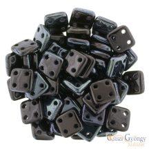 Luster Metallic Amethyst - 20 db - Quadra Tile gyöngy, mérete: 6 mm (LE23980)